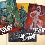 POSTCARDS - Bundle of three zombots_