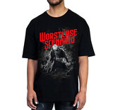 SHIRT - Black with cover art_