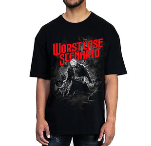 SHIRT - Black with cover art
