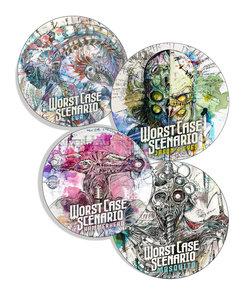 4 Sticker Set